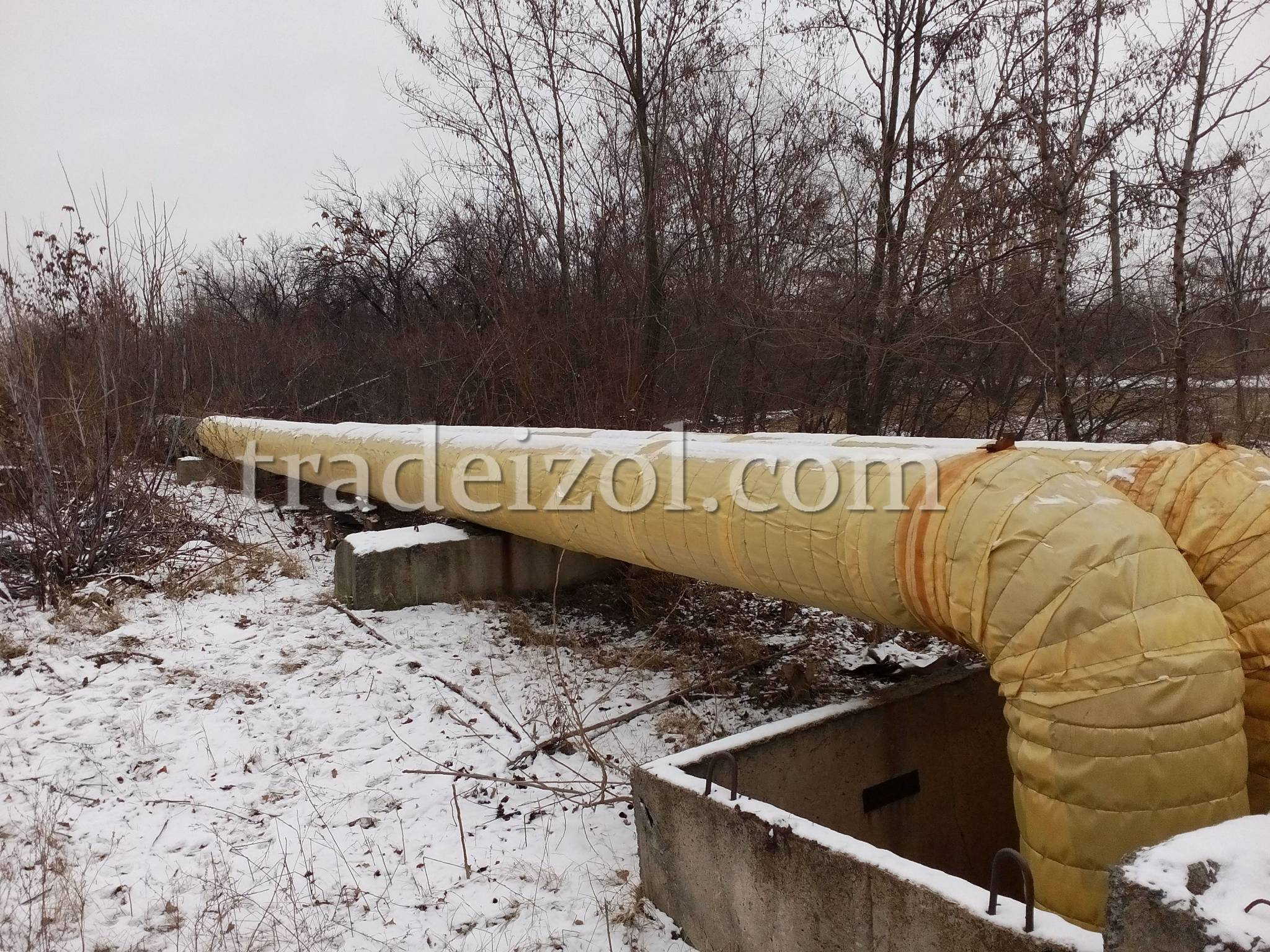 Pipe insulation & Tradeizol - Insulation for pipes and technical equipment.