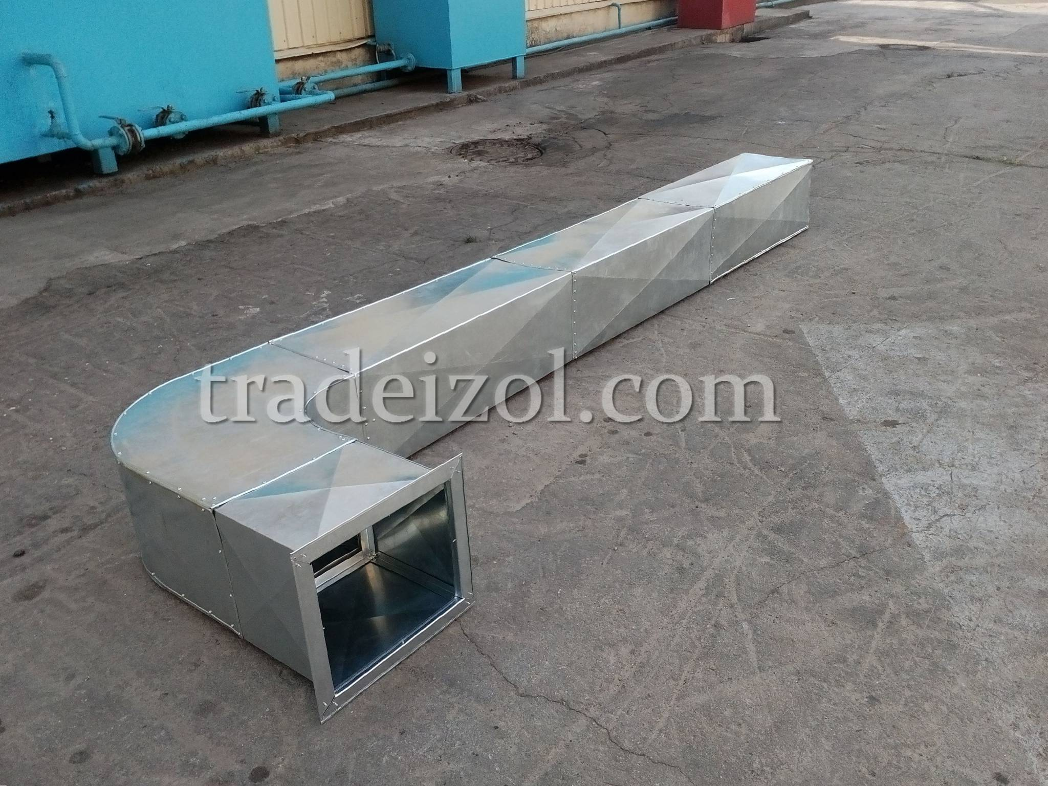 Sheet metal duct