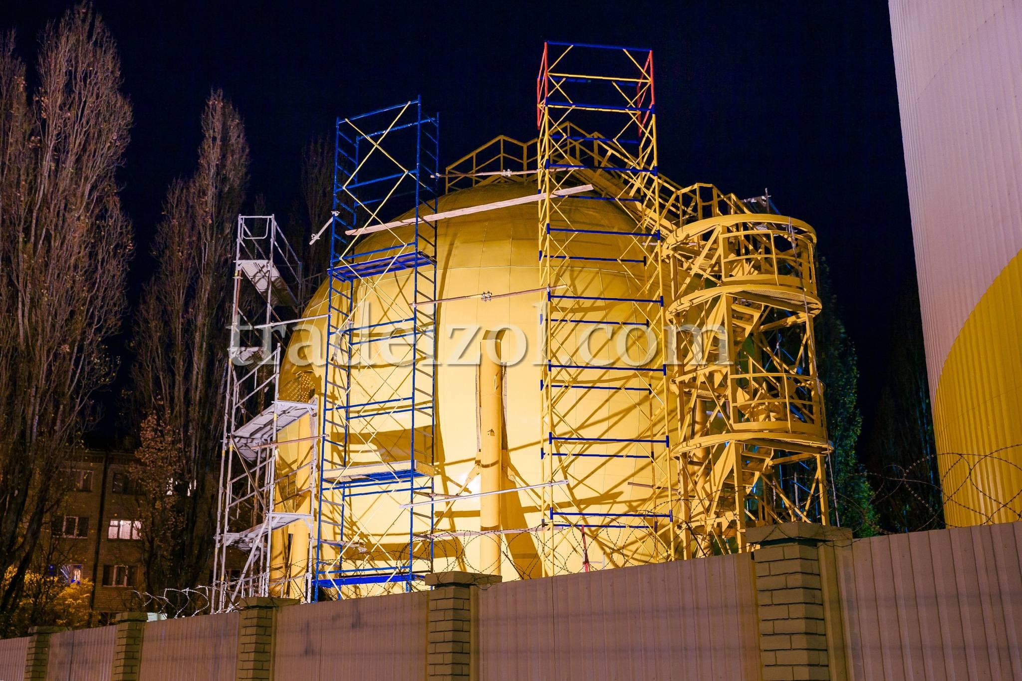 Storage tank's insulation