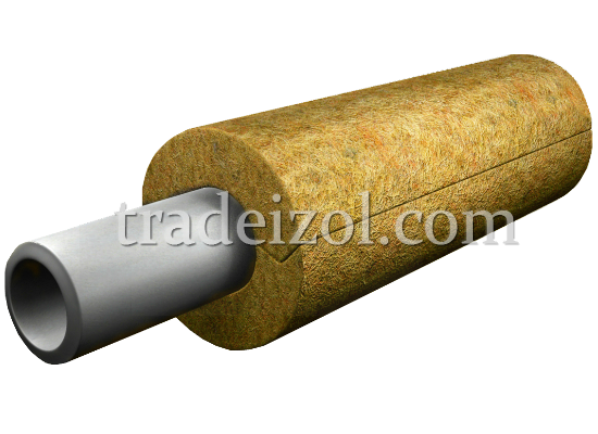 Mineral Wool Pipe Insulation Industrial Insulation